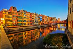 Girona 5826 (Eduardo_Cabral) Tags: girona catalunya catalua canon canonef1740mmf4lusm canoneos6d luiseduardocabralgopar sunset atardecer longexposure largaexposicin