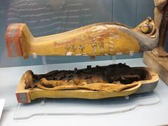 Egyptian sarcophagus and mummy (Shuki Raz) Tags: museum egypt sarcophagus british mummy