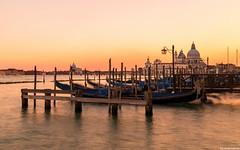 Venice Sunset (George Tudorache) Tags: venice sunset gondolas italy travel