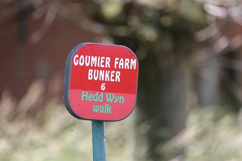 38th Welsh Division Memorial Goumier Farm Ypres.