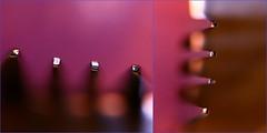 (Teteel) Tags: macro dof bokeh fork kitchen pink details silver