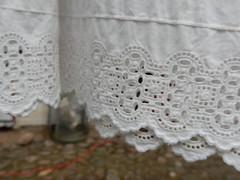 Vibk mlle (Landanna) Tags: vibkmlle als snderjylland zuidjutland denmark denemarken danmark dnemark embroidery borduren broderi edge cutwork