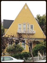 Peaked Roof #2 (Melinda Stuart) Tags: peakedroof houses architecture eastbay berkeley cottage house victorian
