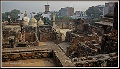 ZAFAR MAHAL RUINS, DELHI (Smit Sandhir) Tags: zafar mahal ruins canon eos 450d delhi history historical mosque last mughal bahadur shah mehrauli dome photography india dslr dynasty