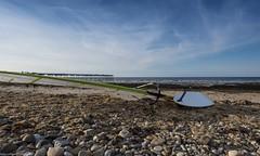 Sea,  sand,  stone &  sail #saltburnbythesea (Shey Braoinn) Tags: saltburnbythesea 2016 breen coast northyorkshire surf uk board eastcoast pier sail scenic seaside skies windsurfing