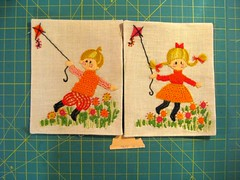 Free Pile Find (cupcakes photos) Tags: free pile needlepoint