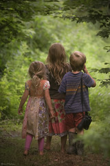 Explore... (Marla Nutbrown) Tags: explore outside summer children childhood naturallightphotography marlanutbrownphotography trees woods trails family love beautiful childphotography