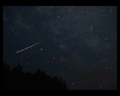 Perseids meteor against the Big Dipper (chuckthewriter) Tags: perseids meteorshower ursamajor bigdipper