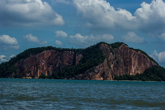 Sandstone Cliffs (Alistair-anderson) Tags: borneo malaysia macaque turtle island nature kingfisher crocodile hong kong sukau rain forest lodge proboscis monkey monitor lizard sun bear orangutan rasa ria resort the peak kota kinabalu