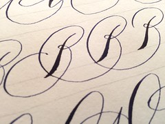 IMG_4490 (xelo garrigs) Tags: caligrafa calligrafia calligraphy pointedpen spencerian penmanship ornamentalscript