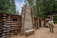 Fort Clatsop (Samantha Decker) Tags: canonef1635mmf28liiusm canoneos6d fortclatsop lewisandclark lewisandclarknationalhistoricalpark meriwetherlewis or oregon pnw pacificnorthwest samanthadecker williamclark outpost