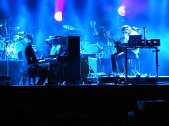 (kristen mckeithan) Tags: eaux claires 2016 eauxclaireswi music festival eau claire wisconsin august nightfall night dark justin vernon bon iver 22 million bruce hornsby 12th