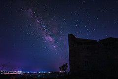 milkyway (Vincenzo Cicero) Tags: milkyway castle stars cameraraw firstattempts sicily starrysky sky astrophotography night nightphotography universe galaxy italy