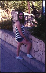 Spain 2016 - Kodak Retina Ib (Type 018 Chrome Dot) - Expired TruPrint Film - Lisa (TempusVolat) Tags: holiday spainholiday spain 2016 vacance summer gareth wonfor tempus volat mrmorodo tempusvolat garethwonfor kodak retina ib vintagecamera film 35mm scan scanned scanning scanner epson perfection v200 wife lisa girl woman holidaysnaps negative beauty beautiful brunette beautifulwife beautifulwoman prettywife attractive pretty lovelywife mywife mygirl gorgeouswife lovelylisa prettylisa goodlooking goodlooks spouse lover lovely love allure elegant cleavage mole tummy belly boobs voluptuous boob breast breasts demure shapely curvy curvaceous boobtube sexy t shorts shortpants short
