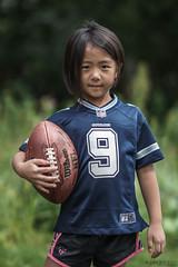 go COWBOYS (r3ddlight) Tags: sonyphoto sonya6300 sony85mmgm a6300 portrait football dallascowboys jerseys ball hmong kids childphotography childern