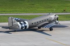 N473DC / Utitled / Douglas C-47A Skytrain (Charles Cunliffe) Tags: canon 7dmkii aviation zurich kloten airport zrh lszh untitled douglas c47a skytrain n473dc 2100882