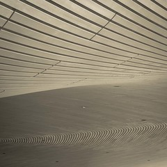waves (morbs06) Tags: aquaticcentre london olympicpark places zahahadid architecture geometry lines monochrome roof shadow square stripes abstract
