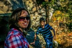 Liam & Shannon (sadlersr) Tags: shannon fall2016 gardenofthegods shawneenationalforest outdoors nature liam trees rocks lightroom