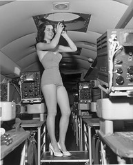 SDASM Aircraft Image (San Diego Air & Space Museum Archives) Tags: n28707 convairt29 t29 astrodome model lucillethomas thomas sextant convair