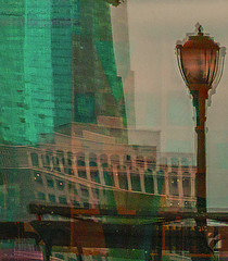 Color of Autumn 2016 In NYC (abstract impressionistic window reflections and shadows waterfront in North Cove) (nrhodesphotos(the_eye_of_the_moment)) Tags: dsc0026172 theeyeofthemoment21gmailcom wwwflickrcomphotostheeyeofthemoment autumn season colorofautumn2016innyc reflecting reflection shadows texture exposed treatment effect impressionism outdoor buildings metal lightfixture architecture creative glass window abstract nyc manhattan perspective