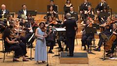 Polina Senatulova con la Real Filharmonía Galicia