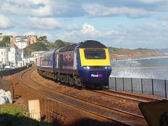 43161 Dawlish (Marky7890) Tags: gwr 43161 class43 hst 1c83 dawlish railway station devon train