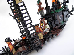 LEGO-Darkevil-02 (Sweeney Todd, the Lego) Tags: lego pirate pirateship zombie zombies ship boat pirates dead darkevil jack sparrow spooky