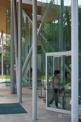 Inside of Okayama University, Junko Fukutake Hall (岡山大学 Junko Fukutake Hall) (christinayan01) Tags: architecture building perspective hall japan sanaa sejima kazuyo nishizawa ryue roof