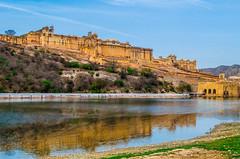 Amer Fort, Jaipur, Rajasthan (Sumit-Gupta) Tags: india architecture nikon fort jaipur rajasthan amer d5100 nikond5100