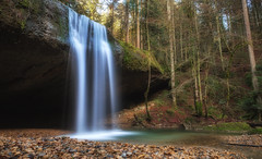 Wirtatobel - Waterfall (Martin Nitsche) Tags: green water canon waterfall woods flickr ndfilter 24l nd1000