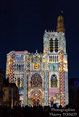 Lumires de Sens 2014 (c) Thierry Toinot (Sens Tourisme) Tags: cathedral burgundy cathdrale lightshow bourgogne tourisme spectacle sonetlumire yonne sensunique lumiresdesens