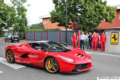 Ferrari LaFerrari (Sellerie'Cimes) Tags: red ferrari modena hybrid rosso supercar maranello v12 fiorano hypercar go