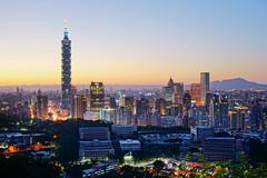 Taipei (aelx911) Tags: sunset night landscape cityscape taiwan taipei a7 虎山 虎山峰 ilce7 sel2470z fe2470f4