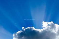Clouds (Robert Lang Photography) Tags: blue light cloud sun white clouds contrast ray bright dunes australia bluesky minimal rays sunrays southaustralia minimalistic ep sleaford eyrepeninsula sleafordbay robertlangportlincoln wwwrobertlangcomaufarm robertlangsouthaustralia