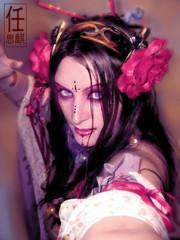 Tribal Fusion Bellydance (blackunigryphon) Tags: dark goth glam bellydance tribalfusion