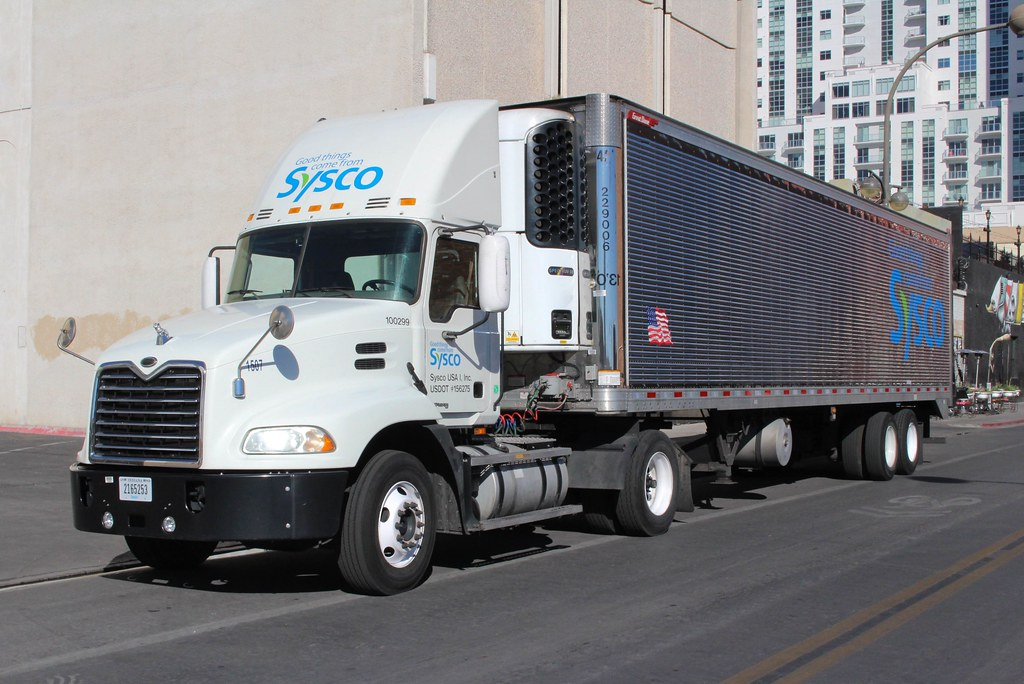 Sysco Food Delivery Truck The World's Best Photo...