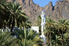 Happy Friday ! / The mosque and minaret in Bilad Sayt, Oman (Frans.Sellies) Tags: minaret mosque oman  moskee moschee       baladseet  img2172   biladsayt baladsayt  biladseet