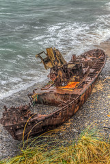 Klemens (_Rjc9666_) Tags: alentejo beach boat coastline hdr nikkor35mm18 nikond5100 old portugal praia remains sea seascape vilanovamilfontes winter wreck ruijorge9666 vilanovademilfontes bejadistrict 1106 ruby3 ruby5 3
