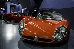 Alfa Romeo 33 Stradale 1967 (naveednur) Tags: red sports car speed 33 fast super 1967 alfa romeo alfaromeo coupe supercar sportscar stradale