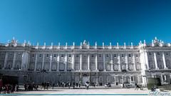 Palacio Real de Madrid (Sebas Fonseca) Tags: madrid street city travel sky people espaa azul architecture real spain nikon flickr ciudad palace cielo hdr palacio celeste traveler d7000 sebafonseca