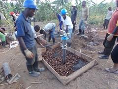 Water Access (ELERwanda) drills 13 wells (ELERwanda) Tags: water wells rwanda mercy drilling wishingwell water4 ubuzima elerwanda