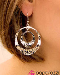 5th Avenue Silver Earrings K1 P5210A-1.