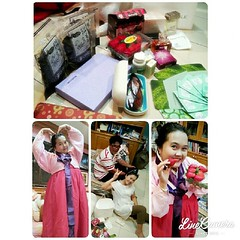 ขอบคุณมากมาย...สำหรับของฝากจากพี่สาวสุดสวย... ...อุตส่าห์หอบมาจากเกาหลี... ...รักสุดสุดอ่ะ..คนเนี้ย!!!...