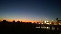 Warner and PCH, Huntington Beach (Ms. Jen) Tags: california water reflections twilight venus dusk pch planet intersection huntingtonbeach bolsachica lumia bolsachicawetlands photobyjeniferhanen warnerave lumia1020 nokialumia1020