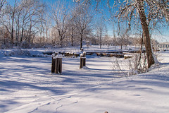 Quiet times on Hennepin Canal (114berg) Tags: winter storm canal illinois aftermath parkway hennepin geneseo 03feb15