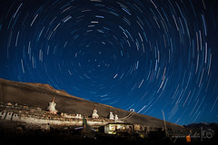 ...and there were stars (Arpan Kalita) Tags: travel light india cold tourism nature beautiful june stars landscape photography photo gallery tour bend curves great picture buddhism pic roadtrip images hues kashmir leh hue ladakh monestary jammukashmir