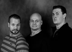 The Guys (Oliver Leveritt) Tags: portrait blackandwhite bw blackwhite flash sb600 speedlight cls offcameraflash creativelightingsystem nikoncls su800 su800wirelessspeedlightcommander afsnikkor2470mmf28ged oliverleverittphotography nikond610