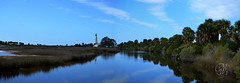 St Marks Lighthouse Panorama (Mike Woodfin) Tags: park light panorama lighthouse reflection heritage history gulfofmexico nature photoshop reflections photography photo nikon pretty fuji gulf florida photos tide picture photograph newport swamp historical fl pan tallahassee stmarks wakulla tidewater mikewoodfin mikewoodfinphotography