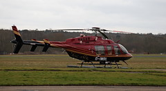 G-IMBL/SE-JVE Bell 407 on 22 February 2015 at Blackbushe (Jersey Aviation Images) Tags: airplane aircraft aviation aeroplane planes aeroplanes flyingmachines aircraftspotters