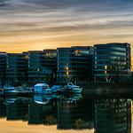 Five Boats im Sonnenuntergang thumbnail